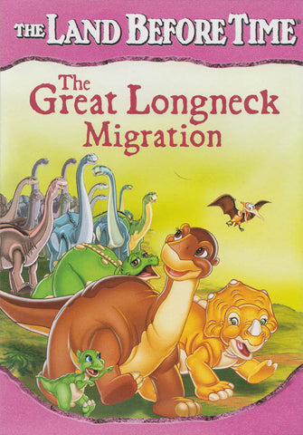 The Land Before Time - The Great Longneck Migration DVD Movie