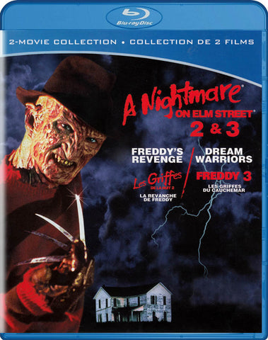 A Nightmare on Elm Street (Freddy s Revenge / Dream Warriors) (2-Movie Collection) (Blu-ray) BLU-RAY Movie