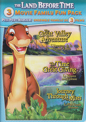 The Land Before Time (Great Valley Adventure .... Journey Through Mists)(3-Movie Family)(Bilingual)