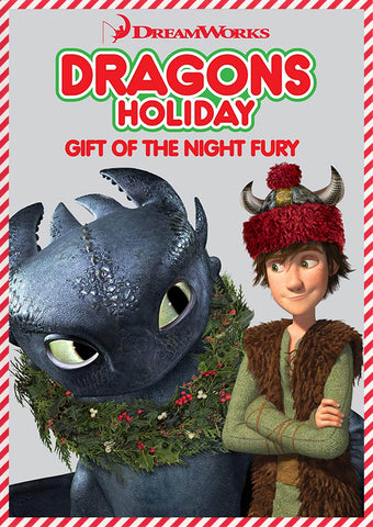 Dragons Holiday - Gift of the Night Fury (Christmas Special) DVD Movie