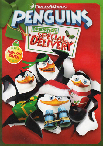 The Penguins of Madagascar - Operation: Special Delivery DVD Movie