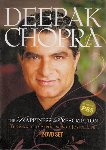 Deepak Chopra - The Happiness Prescription DVD Movie