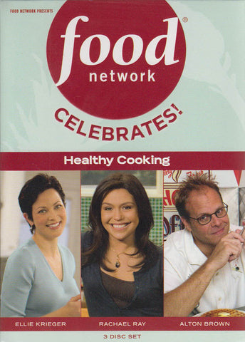 Food Network Celebrates: Healthy Cooking (Boxset) DVD Movie