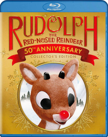 Rudolph: The Red-Nosed Reindeer (50th Anniversary Collector's Edition) (Blu-ray) BLU-RAY Movie