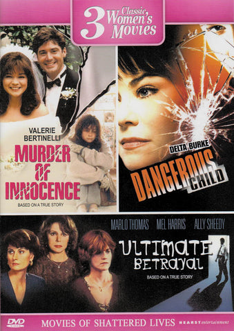 3 Classic Women s Movies (Murder Of Innocence / Dangerous Child / Ultimate Betrayal) DVD Movie