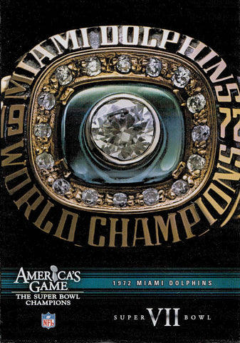 NFL America's Game: 1972 Miami Dolphins - Super Bowl VII DVD Movie