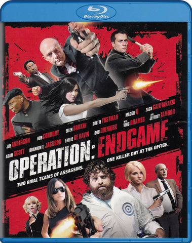 Operation: Endgame (Blu-ray) BLU-RAY Movie