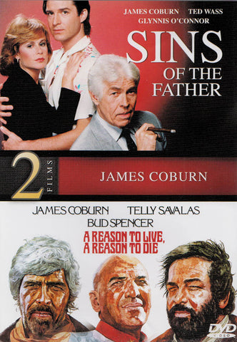 Sins of the Father / A Reason to Live, A Reason to Die (2-Films James Coburn) DVD Movie