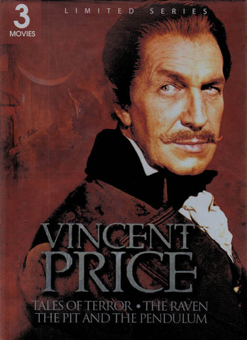 Vincent Price (Tales of Terror / The Raven / The Pit and The Pendulum) (Limited Series) (Boxset) DVD Movie