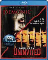 Demonic / Uninvited (Total Terror Double Features) (Blu-ray)