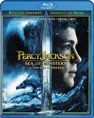 Percy Jackson: Sea Of Monsters (Deluxe Edition) (Blu-ray 3D + Blu-ray +DVD) (Blu-ray) (Bilingual)