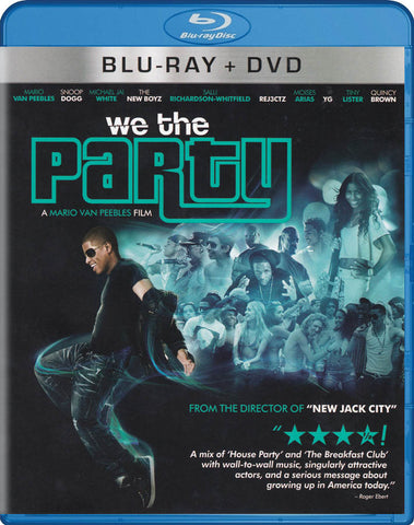 We The Party (Blu-ray + DVD) (Blu-ray) BLU-RAY Movie
