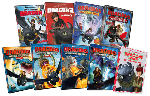 How To Train Your Dragon - The Complete Collection (9-Pack) (Boxset) DVD Movie