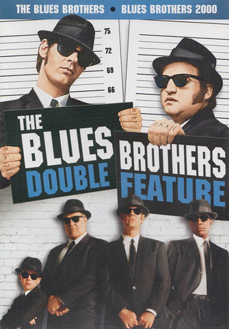 The Blues Brothers / Blues Brothers 2000 (Double Feature) DVD Movie