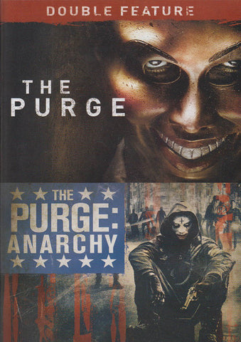 The Purge / The Purge: Anarchy (Double Feature) DVD Movie