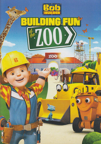 Bob The Builder - Building At The Zoo DVD Movie