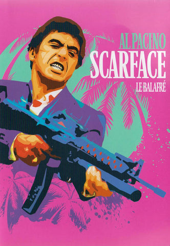 Scarface (Al Pacino) (Pink Cover) (Bilingual) DVD Movie