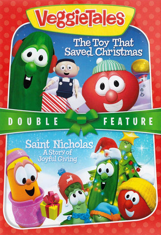VeggieTales: The Toy That Saved Christmas/Saint Nicholas A Story Of Joyful Giving (Double Feature) DVD Movie