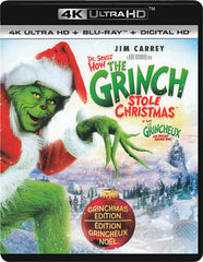 Dr. SeussHow The Grinch Stole Christmas (4K Ultra HD / Blu-ray / Digital HD)( Blu-ray) (Bilingual)