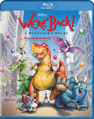 We re Back! A Dinosaur s Story (Blu-ray) (Bilingual) BLU-RAY Movie