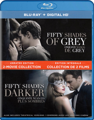 Fifty Shades 2-Movie Collection (Unrated Edition) (Blu-ray) (Bilingual) BLU-RAY Movie