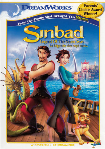 Sinbad - Legend of the Seven Seas (Widescreen Edition) (Bilingual) DVD Movie
