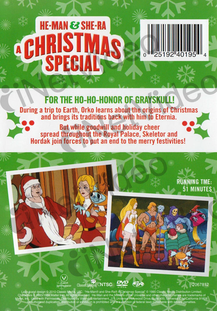 He Man Christmas Special.He Man She Ra A Christmas Special On Dvd Movie