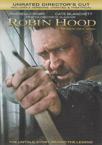 Robin Hood (Unrated Director's Cut) (Bilingual) DVD Movie