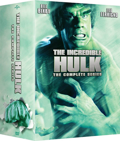 The Incredible Hulk - The Complete Series (2017) (Boxset) DVD Movie