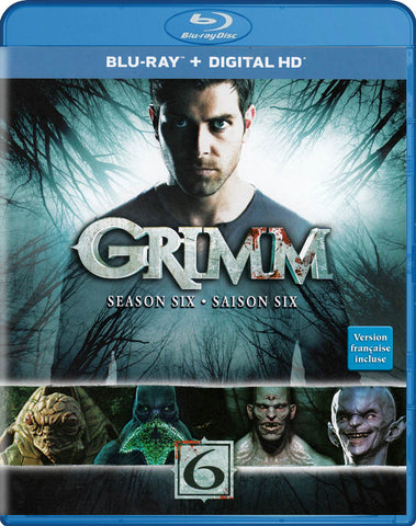 Grimm: Season 6 (Blu-ray + Digital HD) (Bilingual) (Blu-ray) BLU-RAY Movie