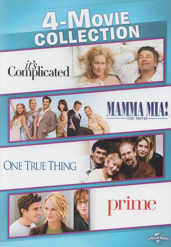 It's Complicated / Mamma Mia: The Movie / One True Thing / Prime (4-Movie Collection) DVD Movie