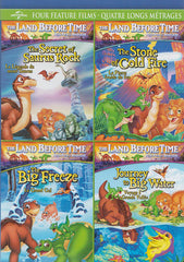 Land Before Time (Secret of Saurus Rock/Stone of Cold Fire/Big Freeze/Journey Big Water)(Bilingual)