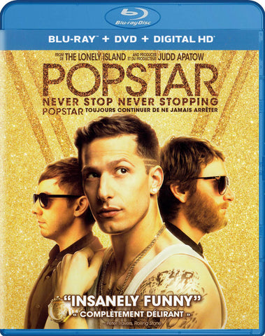 Popstar: Never Stop Never Stopping (Blu-ray + DVD) (Blu-ray) (Bilingual) BLU-RAY Movie