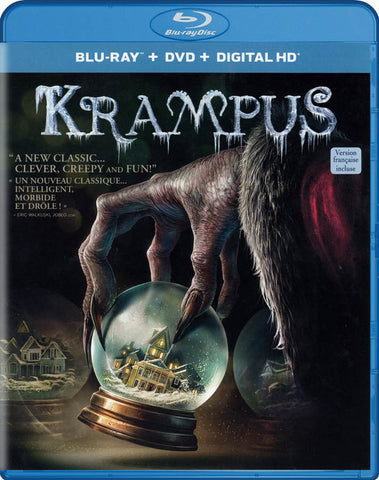 Krampus (Blu-ray + DVD) (Blu-ray) (Bilingual) BLU-RAY Movie