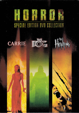 Carrie / The Fog / The Howling (Horror Special Edition Collection) (Boxset) DVD Movie