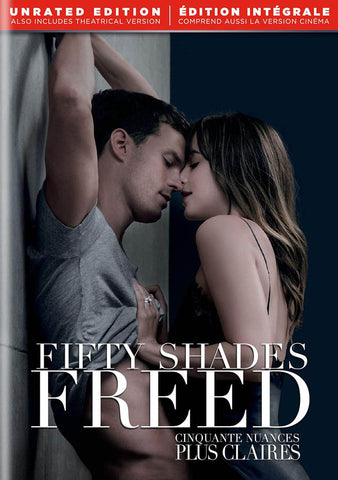 Fifty Shades Freed (Unrated Edition) (Bilingual) DVD Movie