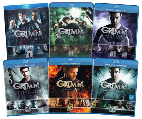 Grimm - The Complete Series (Season 1-6) (Blu-ray) (6-Pack) (Boxset) BLU-RAY Movie