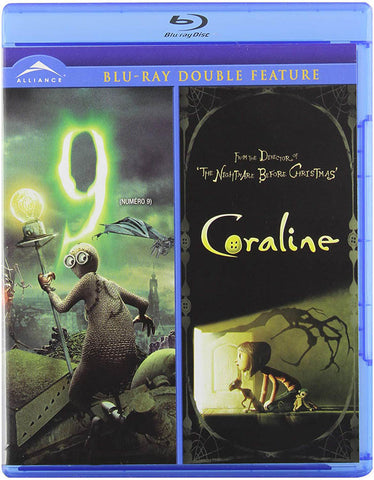 9 / Coraline (Double Feature) (Blu-ray) (Bilingual) BLU-RAY Movie