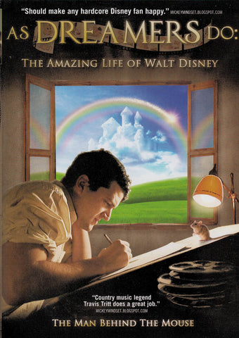 As Dreamers Do: The Amazing Life of Walt Disney DVD Movie