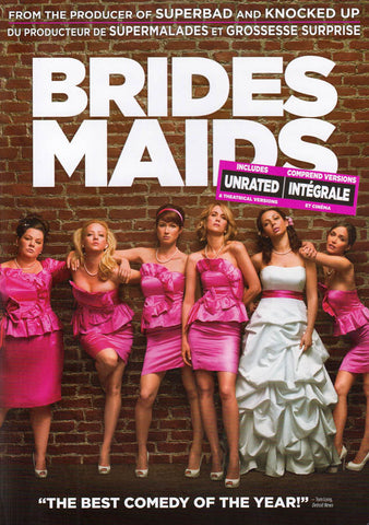 Bridesmaids (Includes Unrated and Theatrical Versions) (Bilingual) DVD Movie