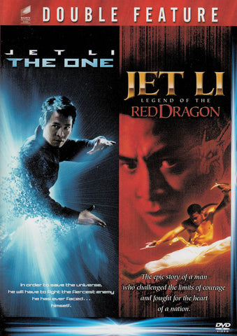 Jet Li - The One / Legend of the Red Dragon (Double Feature) DVD Movie