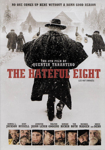 The Hateful Eight (Bilingual) DVD Movie