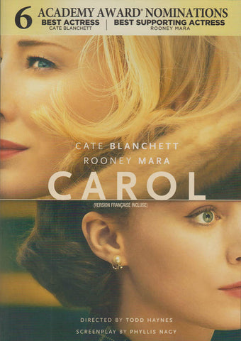Carol (Bilingual) DVD Movie