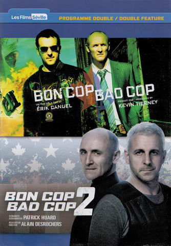 Bon Cop Bad Cop / Bon Cop Bad Cop 2 (Bilingual) (French Version) DVD Movie