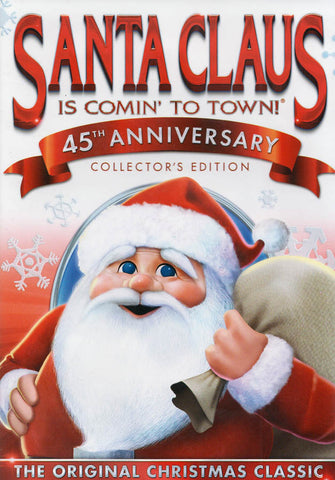 Santa Claus Is Comin' to Town (45th Anniversary Collector's Edition) DVD Movie