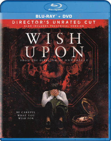 Wish Upon (Unrated & Theatrical) (Blu-ray + DVD) (Blu-ray) BLU-RAY Movie