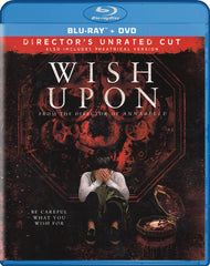 Wish Upon (Unrated & Theatrical) (Blu-ray + DVD) (Blu-ray)