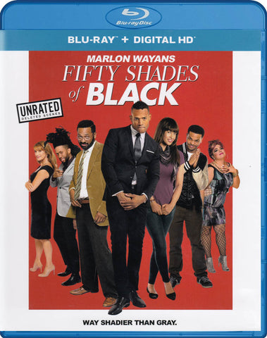 Fifty Shades Of Black (Blu-ray + Digital HD) (Blu-ray) BLU-RAY Movie