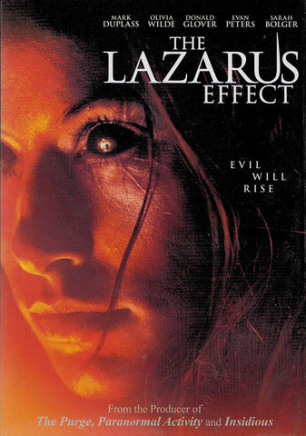 The Lazarus Effect DVD Movie