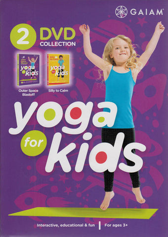 Yoga for Kids : Outer Space Blastoff / Silly to Calm (2-DVD Collection) DVD Movie
